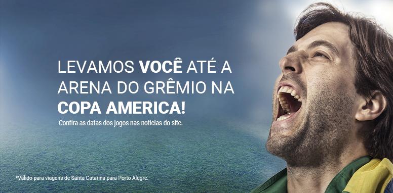 Viaje para Porto Alegre e assista a Copa América
