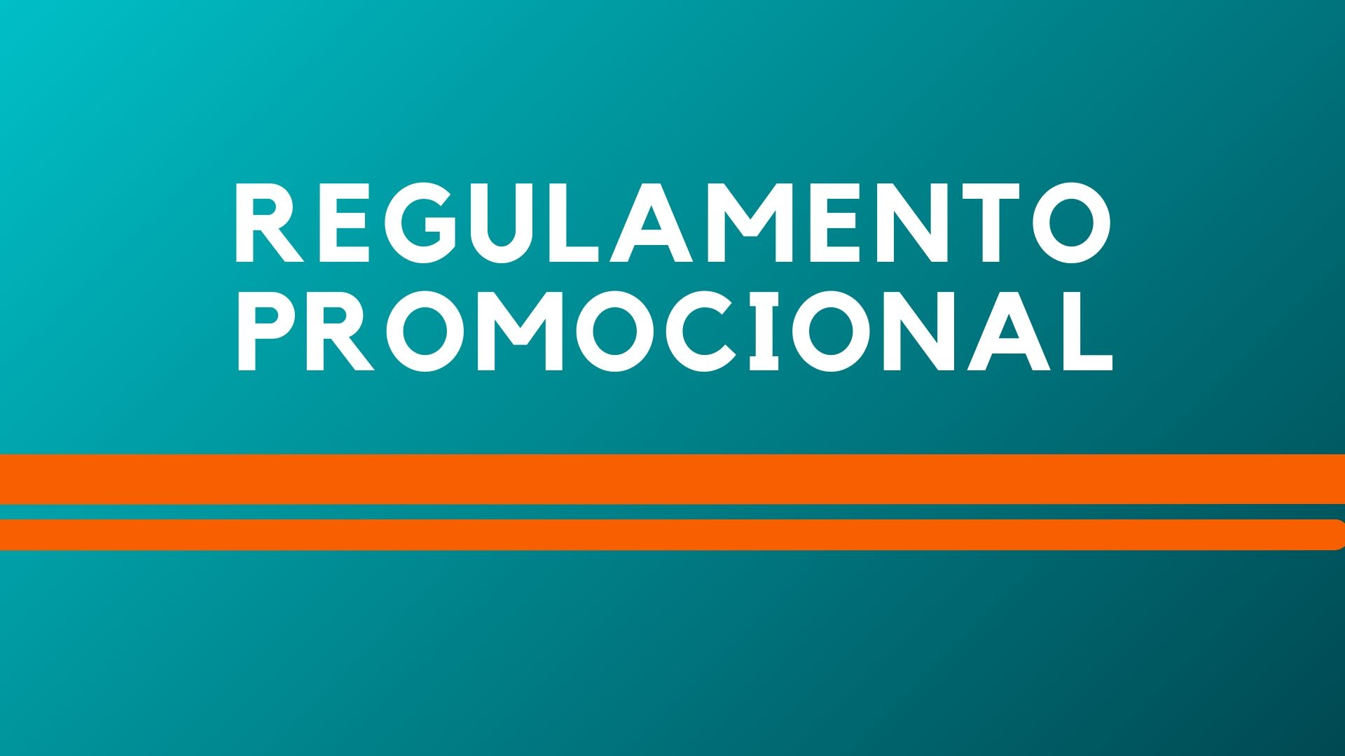 Regulamento Promocional